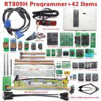 Circuits intégrés 100% Original RT809H Programmeur universel EMMC-NAND Flash USB 42 articles