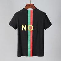 Yüksek Sokak Yıkanmış Mektup Baskı Pamuk Tişörtleri Erkek Kısa Kollu Gevşek Rahat Yaz T Gömlek O Boyun Boy Hip Hop Tees