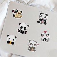 50Pcs Panda Sticker Non-random For Car Bike Luggage Stickers Laptop Skateboard Motor Water Bottle Snowboard wall Decals Kids Gifts
