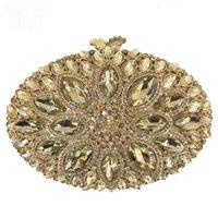 Hochwertige damen luxus diamant kupplung frauen kette volle strass abendessen tasche weibliche kristall banquet dress taschen für party abend