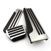 Infiniti G25 G35 G37 Q50 Q60 EX25 QX50 QX70 EX FX M25 Q60S 자동차 가스 브레이크 페달 커버 REST PEDALE