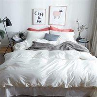 Bedding Sets 100% Cotton Bedsheet Set Quilt Duvet Cover Bed Pillowcase Luxury Queen 4Pieces King Size