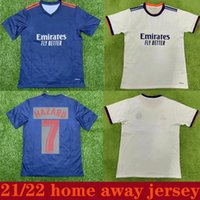 21 22 Real Madrid Home Hazard Soccer Jersey 2021 Thai Top Quality Bale Asensio Man Camicia da calcio Modric Marcelo Camiseta de Futbol