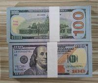 الولايات المتحدة الأمريكية الدعامة المال الفيلم الأوراق النقدية ورقة الجدة اللعب 20 50 100 دولار عملة حزب المال وهمية المال الأطفال هدية لعبة البنكنوت 1