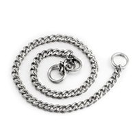 Pet Supplies 304Stainless Steel Chains Dog Training Choke Collar For Small Medium Large Dogs Chrome Plated Metal Accessories