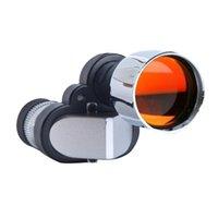 Liga de alumínio caça monocular de baixa luz portátil visão noite angolo assistindo telescópio de tamanho de bolso 8x20 telescópios