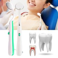 Smart Electric Brosse à dents Miroir Inspection Instrument Dentiste Dentiste Dentaire DENTAL LED ALLUMINÉ TOOL INSTRUMENTS D'HYGIÈNE