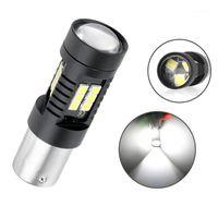 1X 1156 LED 1157 BA15S P21W BAU15S PY21W Bay15D P21 / 5 W R5W Dönüş Sinyali Işık Araba Fren 3030 SMD Oto Lambası 12v1
