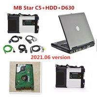 2021.06V أداة تشخيص MB ستار C5 SD Connect Plus Laptop D630 HDD تشخيص البرمجيات ل Mercedes-Benz Support MB سيارات الشاحنات