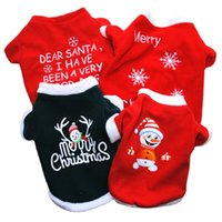 Pet Clothes Fleece 2Legs Christmas Printing Hoodie For Small Dog And Cat Top 4763 Q2