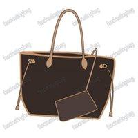 2021 مجنون مبيعات أزياء المرأة حقائب ل ماركة مصمم حقيبة الكتف الفاخرة سيدة حمل سوبر aaa جودة جلد طبيعي اثنين الحجم توصيل مجاني