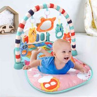 QWZ Baby Activity Gym Play Play Mag 0-12 Meses Desarrollo de alfombras Soft Rattles Musical Toys Forg for Babies Games 210811