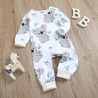 Rompers Casual Born Bodysuit Jumpsuit Infant Baby Girls Boys Cute Cartoon Leaves Romper Outfits Costume Pour Bebes#30