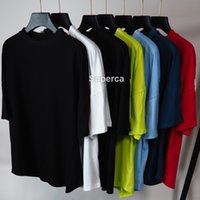 21SS High Qaulity Mens Designers Tees Print Letter Green White T Shirts Fashion Casual Couples Short Sleeves Tee Comfortable Men Women Vinta