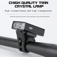 Bike Lights USB Rechargeable Bicycle T6 LED Front Light Lighting Waterproof Head
