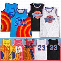 Space confiture 2 bugs de jersey de basketball Bunny 6 James Taz 1/3 Tweety Tunes Squad 10 Lola Lebron 23 Michael Tweety 22 Bill Murray Men Kdis Jersey