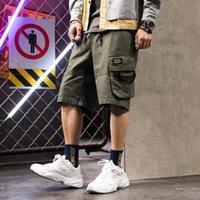 Men Shorts Sweat Hip Hop Streetwear Summer Military Cotton Mens Bermuda M-XXXL 2021 Casual Sexy Men's
