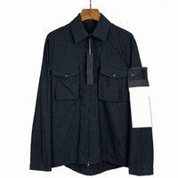 Designer Stone Veste Casual Island Coton Shirt Hommes Breaker Femme Manteau Badge Badge Série Ghost Vestes Manteaux Manteaux Lover Vêtements Vêtements Broderie Outerw S9VA #