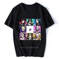 Erkek T-Shirt Danganronpa V3 Killing Harmony Gefertigte Bedruckte T Gömlek Erkekler Pamuk Tişört Anime Tees Harajuku Streetwear Tops