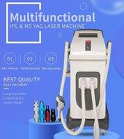 2021 Wholesale promotion intense pulsed light IPL laser hair removal machine Full Body Facial Arm Leg Armpits Epilator Nd yag tattoo cleaning equipment