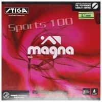 진짜 Stiga magna ts 장력 II 탁구 탁구 고무 여드름 점도 라켓 스핀 라켓 스포츠 Raquets