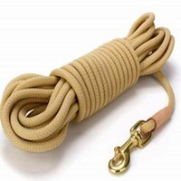 Dog Collars & Leashes Leash Pet Supplies Big Chain Tracking Walking Training Search And Rescue Rope