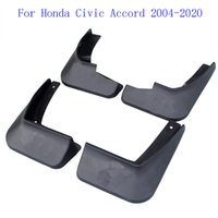 4Pcs Original Plastics Car Mud Flaps for Honda Civic Accord 2004-2020 Mudflaps Splash Guards Front Fender Rear Mudguards black
