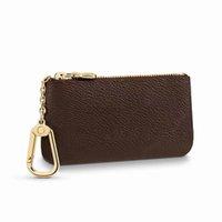 2021 Femmes Hommes Femmes Portefeuilles Porte-clés Designer Mode Porte-monnaie Porte-cartes Véritable Cuir Sac à glissière Accesoires M62650