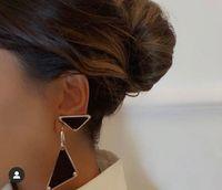 Fashion black earrings aretes orecchini for mens women party wedding lovers gift jewelry engagement NRJ
