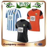 21 22 Malaga Soccer Jerseys 2021 Malaguista Jcastro Ontiveros Juanpi Mailleots De Foot Shirt Santos Adrian Football Offe