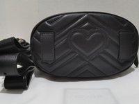 5a النساء 476434 18 سنتيمتر هامنت حزام حقائب الخصر حقيبة يد مع حقيبة الغبار مربع