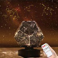 Gece Işıkları D2 LED Işık Yıldız Projektör Galaxy Lamba Yıldızlı Gökyüzü Masa Lite Starlight Nightlight Skylight Çocuk Çocuklar Hediye