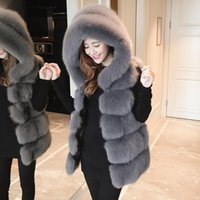 Pelliccia femminile Faux Abbigliamento invernale uomo Cappotto Ambientale Protezione ambientale Tenere calda maglia Cap Sleeve Abbigliamento Corea artificiale 2021