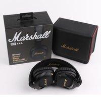 Marshall Mid Anc Наушники Bluetooth Наушники Bluetooth Активные шумоподавление Беспроводные DJ Наушники Глубокая Басская Игровая Гарнитура для iPhone Smart Phone