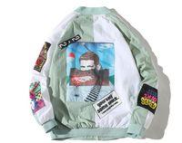 HIP NOUVEAU HIP HOP MA1 mince Tracksuit SUPRE Coat Fashion Casual Streetwear Man Modèle Couture Jacket de baseball