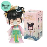 Robotime Rolife Nanci Blind Box Action Figure Dolls Toys Chinese History King Beauty Story Character Model Gift