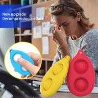 Finger pop it fidget Bubble Music Decompression Toy Press Color Baby Intelligence Development Rodent Pioneer