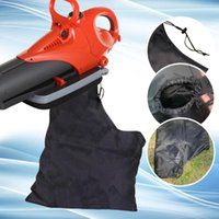 Storage Bags Vacuum Bag Zippered Type Reusable Leaf Blower Dust Collection Lawn Shredder Replacement Cleaner Garden Tool