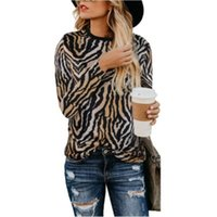 Women Blouse 2021 Spring Tops O-neck Collar Long Sleeve Leopard Shirt Loose Plus Size Clothing For Ladies Blouses Blusas Women's & Shirts