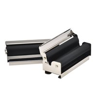 70mm Metal Cigarette Rolling Machine Smoke Accessories Joint Roller Cigarettes Rollers With Paper Holder Smoking Papers Clip