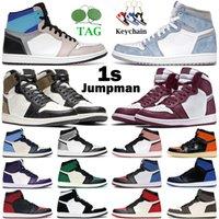 الرجال النساء jumpman 1 ثانية أحذية كرة السلة 1 عالية og بوردو الأولي نموذج محطمة الخشب الداخلي براءات الاختراع تويست الصبار جاك شيكاغو رجل المدربين الرياضة أحذية رياضية