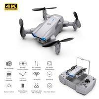 KY906 4K HD Dual Camera Professional Mini Drone WiFi FPV Foldable Quadcopter Dron Follow Me RC Helicopter UAV
