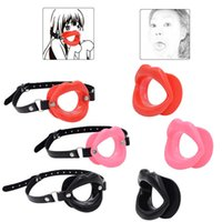 Massage Items Silicone Open Mouth Gag Sexy Toy for Couples Slave Bdsm Bondage Gear Adult Games Woman BDSM Toys Intimate Goods