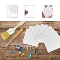 Presentförpackning 30 ark Glasfusing Pappersmikrovågsugn Foderkeramikverktyg