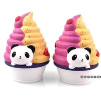 newcute animal toys ice cream PU Super Squeeze Slow Rising kawaii Squishies Simulation decompression toy children vent ornaments EWB6294