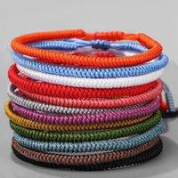 Boho плетеные браслеты девочек ручной работы этнической тканевом браслет браслет браслет дружбы
