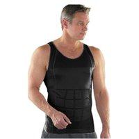New Hot Men Body Slimming Tummy Shaper Belly Underwear Shapewear Waist Girdle Summer Sport Vest Mendesigner