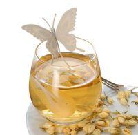 Силиконовая бабочка дизайн чайный ситечко сетчатый чайной лист