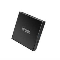 MeCool KM6 Google ATV Android 10.0 TV Box Amlogic S905X4 10 Set Top Wifi 2.4 جرام 5G Bluetooth 2GB 16GB Media Player