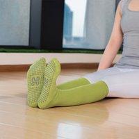 Ropa para hombres y para mujer Todas las yoga de algodón Multi Color Tubo medio Sole Antidkid Mujer Calcetines de ternera